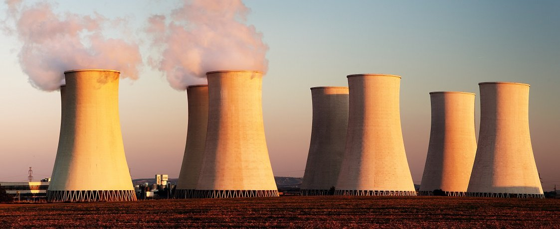 image des centrales nucléraires (panoramique)