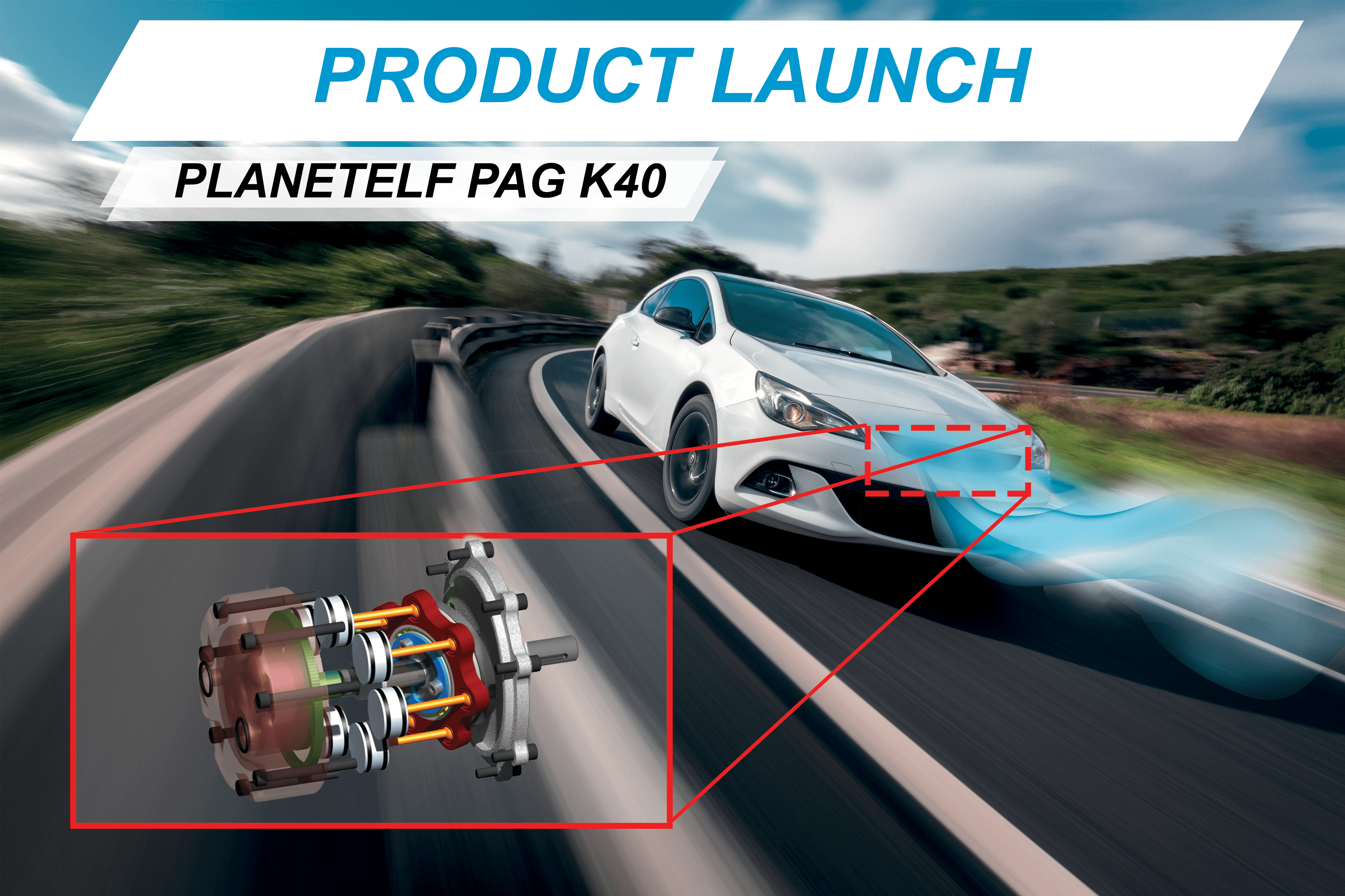 Planetelf PAG K 40 lubricant