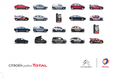 Total wishes Citroën happy hundredth birthday