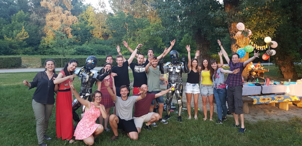 A little picnic with TOTAL ROBOT QUARTZ brothers in Croatia