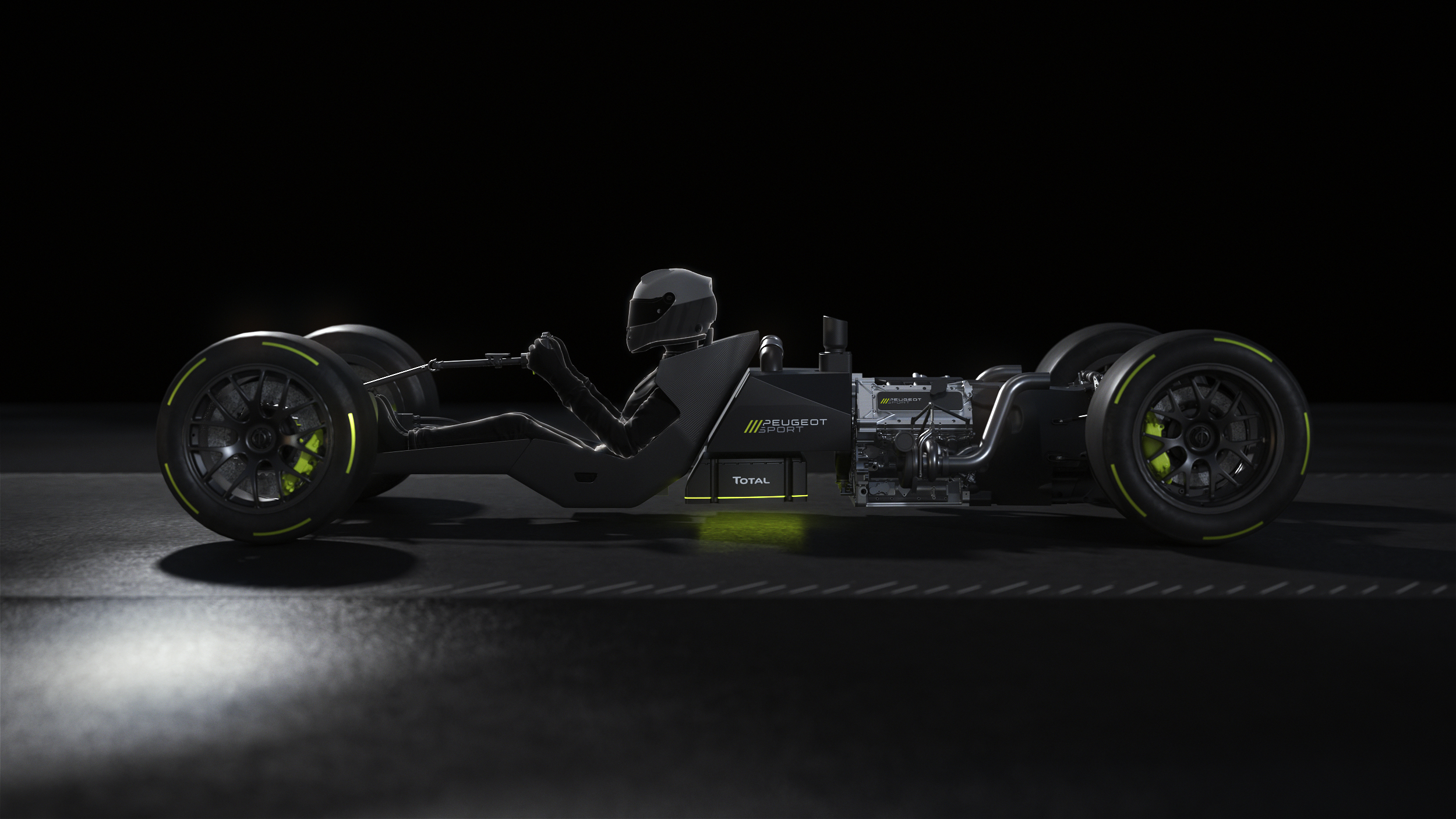 TOTAL WEC program in Le Mans Hypercar, Powertrain reveal