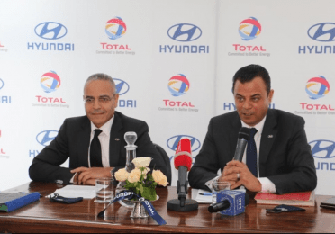 Alpha Hyundai and Total Tunisia extend their partnership