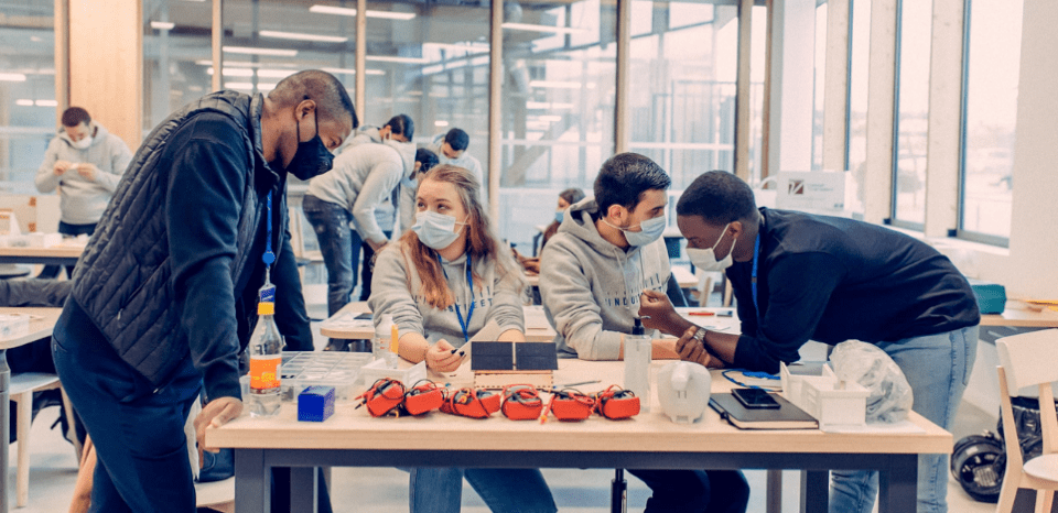 Industreet campus in Paris - An inititative from Total Foundation