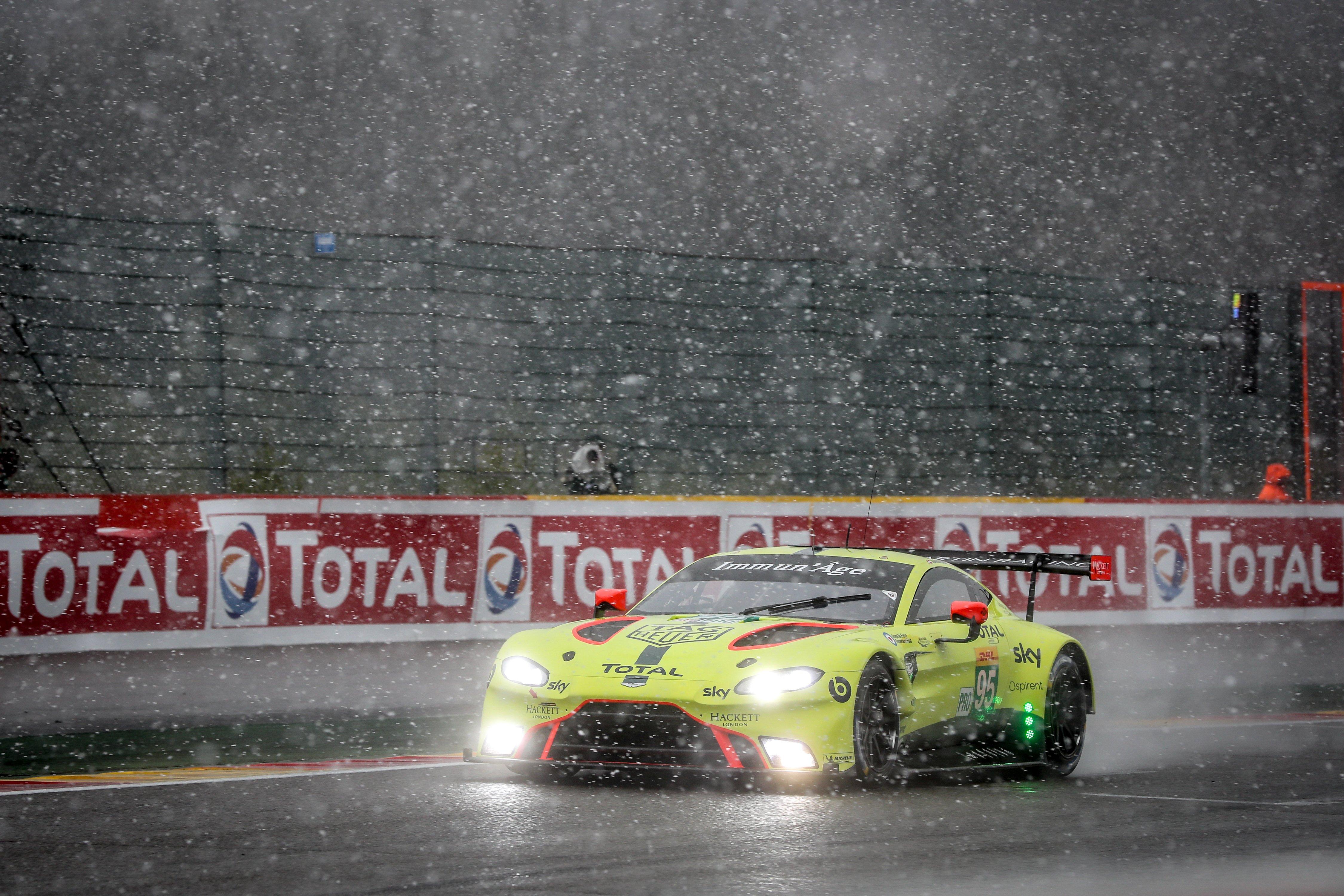 Aston Martin Vantage GTE win at Francorchamps Spa 2019
