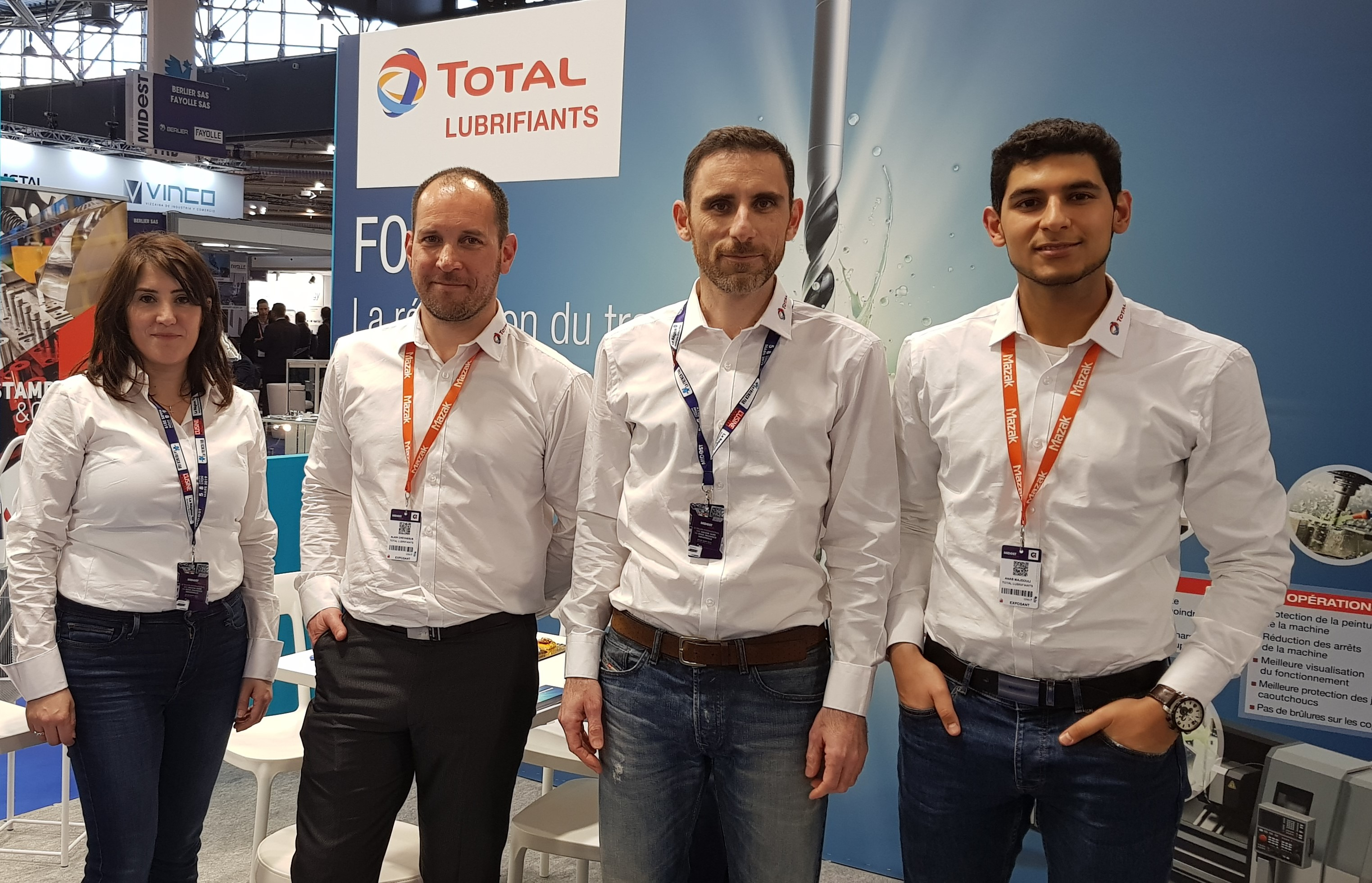 Total Lubrifiants was at the 2019 Global Industrie exhibition