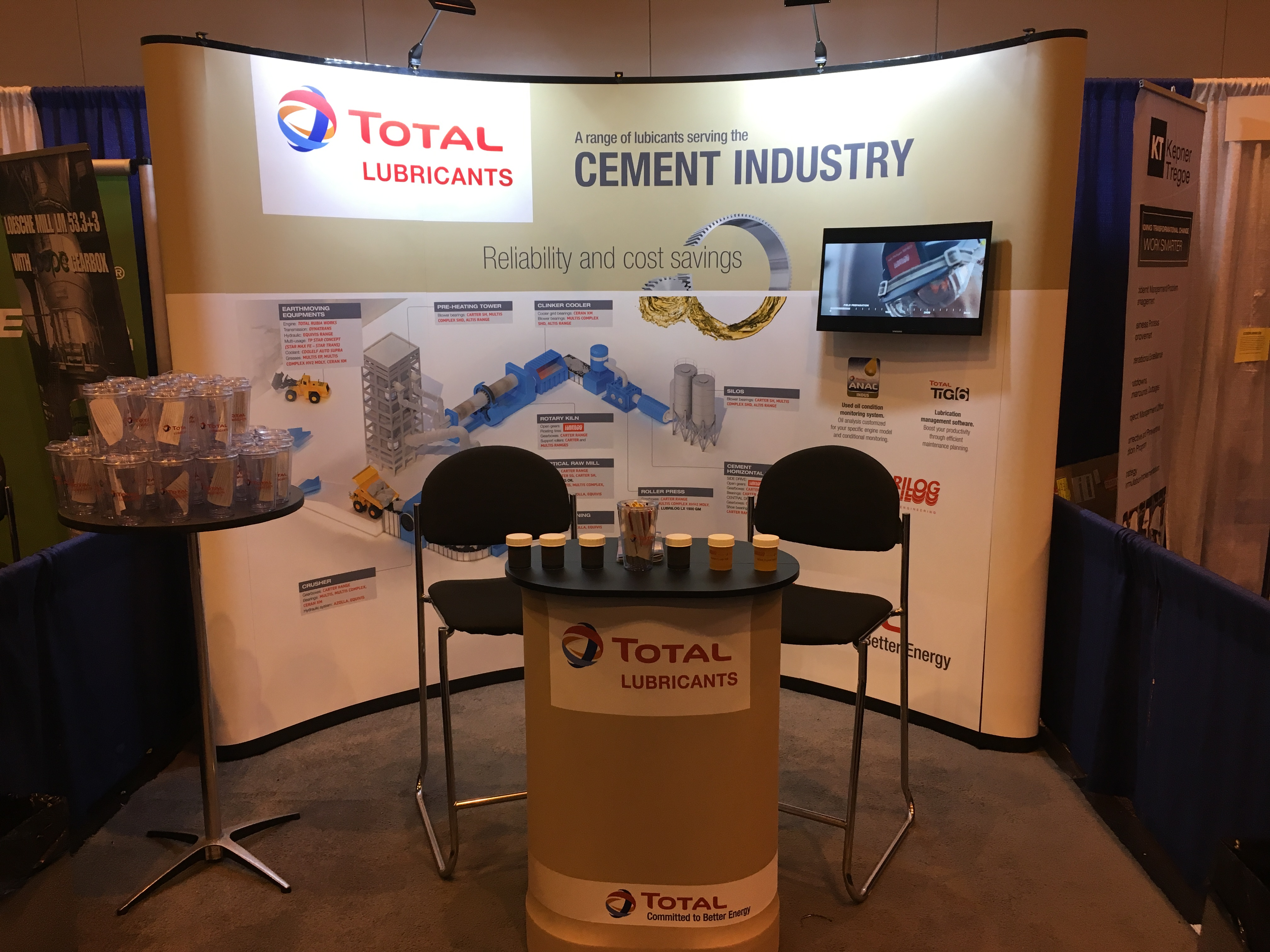 Cement Industry stand