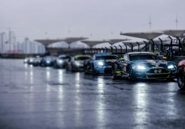 Start of the 2018 FIA WEC race
