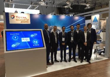 Total Lubrifiants and R&D EV Team in Berlin CTI 2018