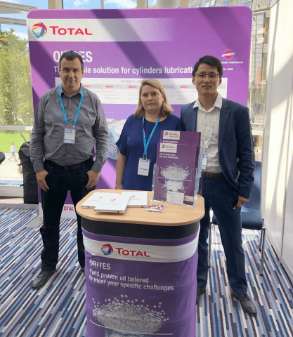 Total Lubrifiants chemical team at LDPE 2019