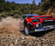 Ogier in Turkey with the victory